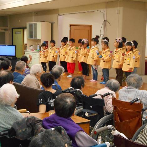 特別養護老人ホームサンアップルホームグループ 地域との関わりの様子4