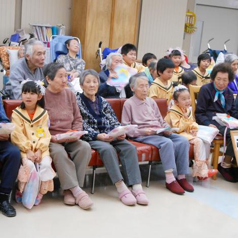 特別養護老人ホームサンアップルホームグループ 地域との関わりの様子5