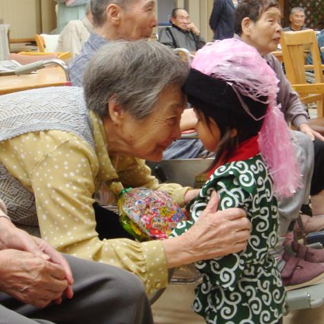 特別養護老人ホームサンアップルホームグループ 地域との関わりの様子6