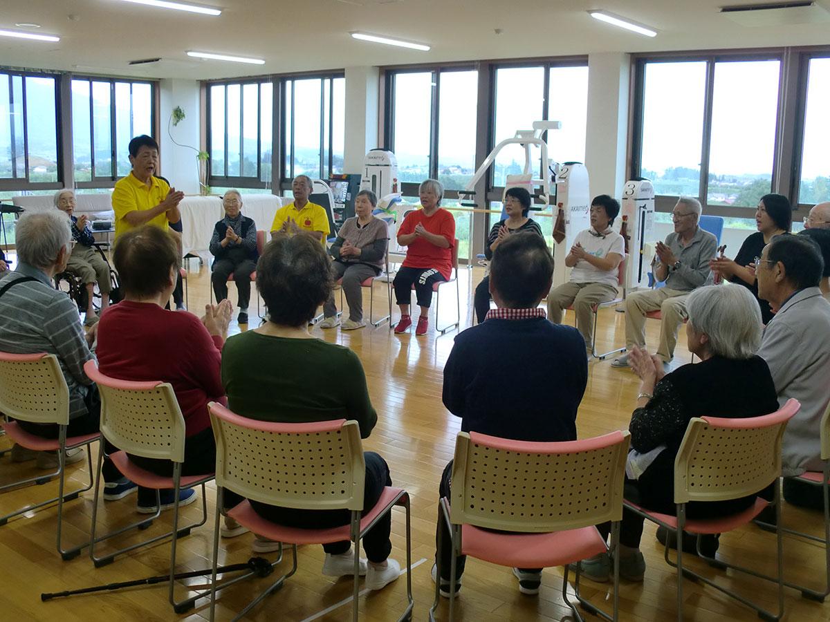 『いきいき体操』で体力作り! 4 コミュニティーカフェわかば