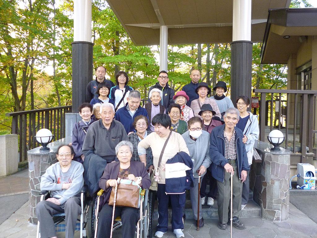 デイサービスセンター一泊旅行 3 特別養護老人ホームサンアップルホーム