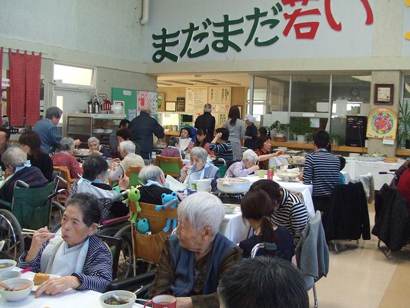 うまいものまつり 特別養護老人ホームサンアップルホーム