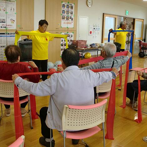 特別養護老人ホームサンアップルホームグループ 地域との関わりの様子1