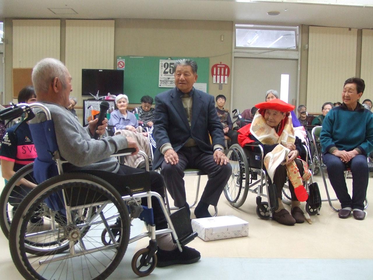 祝・100歳 3 特別養護老人ホームサンアップルホーム