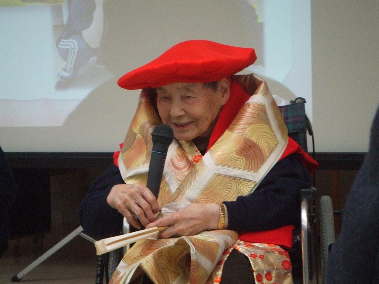 祝・100歳 4 特別養護老人ホームサンアップルホーム