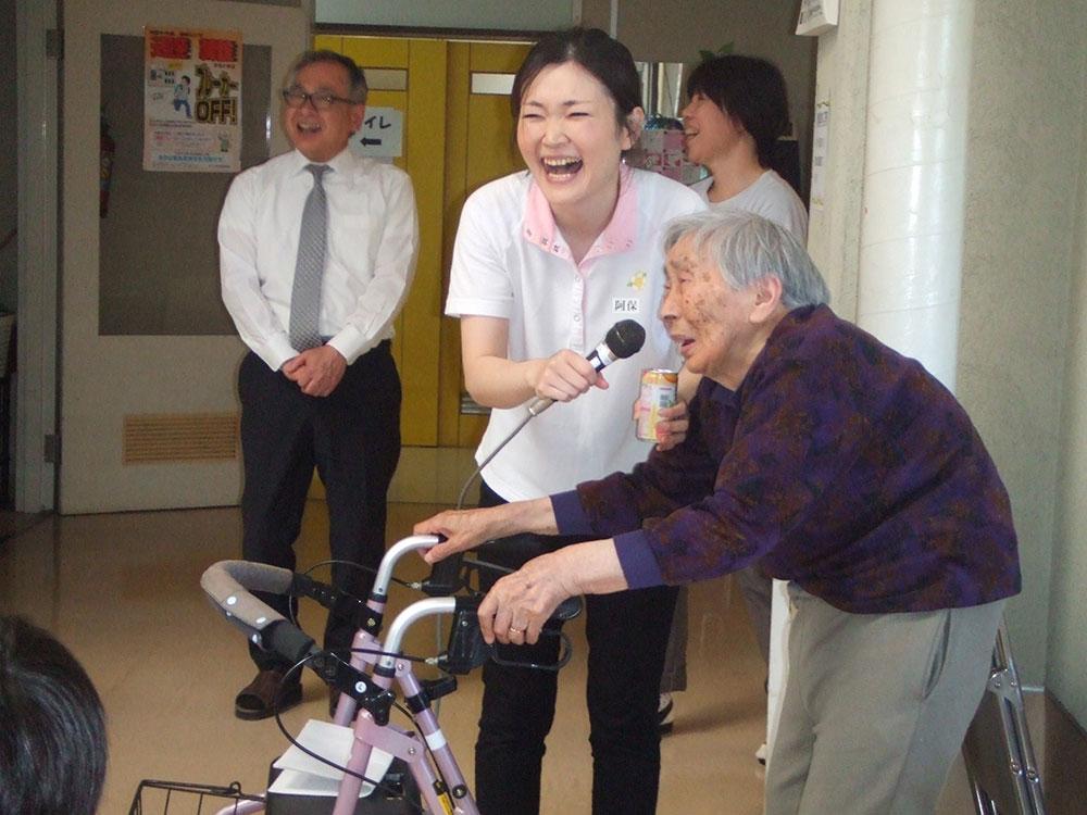 うまいものまつり 1 特別養護老人ホームサンアップルホーム